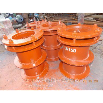 柔性防水套管,02S404标准钢制柔性穿墙套管