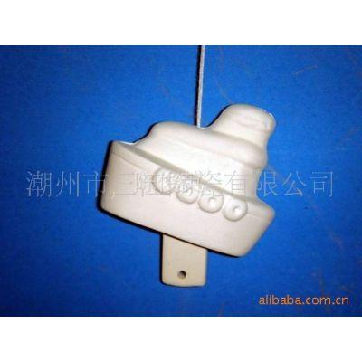 供应DIY陶瓷 陶瓷风铃 轮船风铃