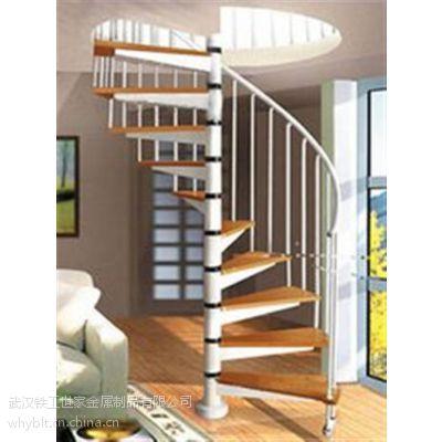 铁艺旋转楼梯哪家好|武汉铁艺旋转楼梯|逸步楼梯(在线咨询)