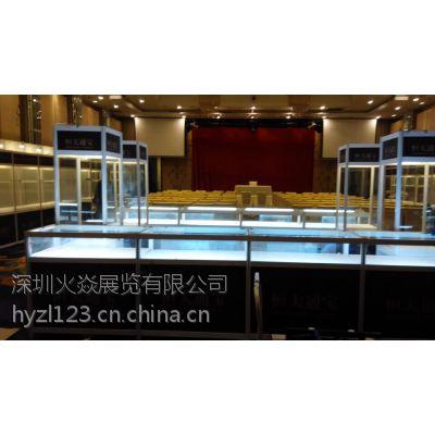 深圳黑色展示柜租赁批发工厂