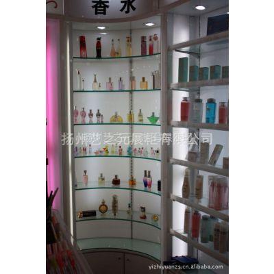 2013供应 烤漆 精品展柜 玻璃展柜 化妆品展示柜