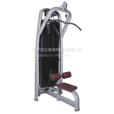 供应奥圣嘉高拉背肌训练器ASJ-A013健身房专业力量训练器
