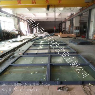广西柳州亚图牌钢制防爆窗 抗爆窗定制