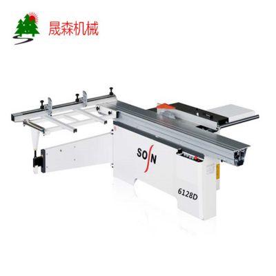 裁板锯生产厂家 青岛晟森木工机械 6128D 90度精密裁板锯