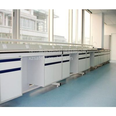 供应中央实验台 钢木材质 实验室边台 尺寸支持定做 转角边台 耐腐蚀耐冲击