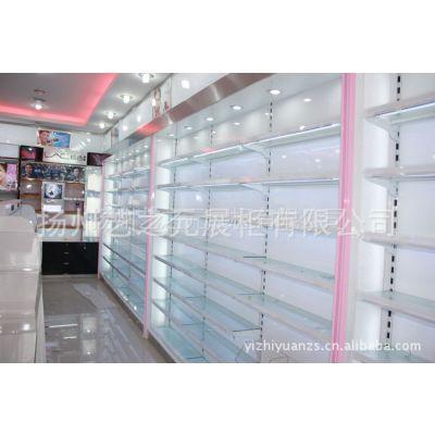 供应205厂家销售 烤漆100cm  展柜展示柜 化妆品专卖店柜台