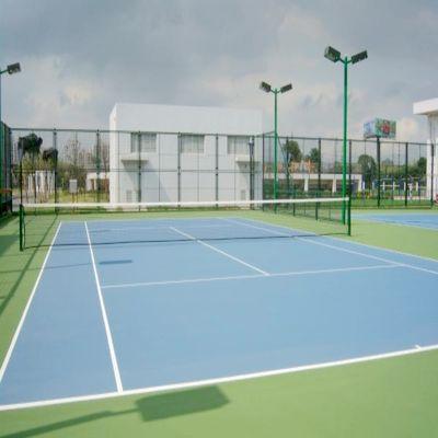 供应广东东莞丙烯酸网球场原材料 并承接丙烯酸网球场工程施工
