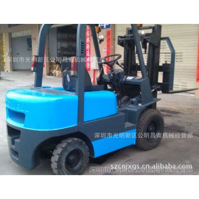 供应深圳优惠出售2.5T二手柴油叉车,二手台湾太子叉车〈已售馨〉