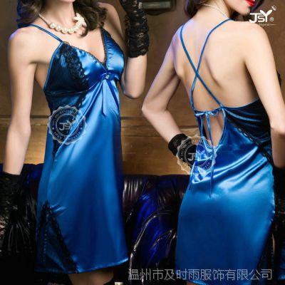新款外贸欧美性感短裙式蕾丝诱惑情趣睡衣工厂直销批发9670