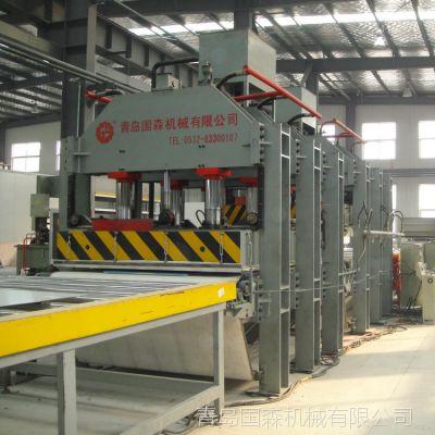 青岛国森专业生产各种型号的液压机(热压机与冷压机)