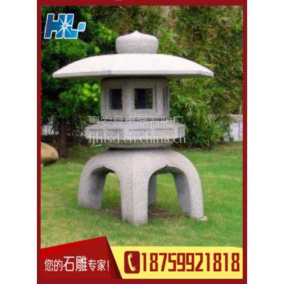 专业提供 园林小石雕工艺品 石灯笼 灯塔