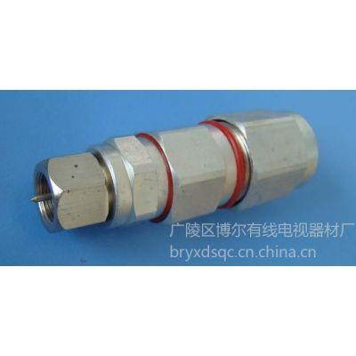 供应-7防水头,电缆线接头,通讯器材,F头,有线电视挤压冷压头
