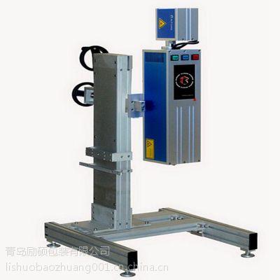 山东食品喷码机总经销励硕LS-2000激光喷码机高速激光打标机