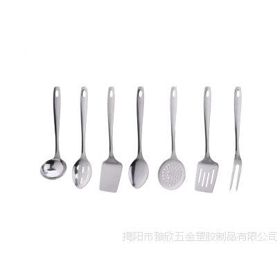 厂家直销 高档 不锈钢厨具 烹饪勺铲 YX1010