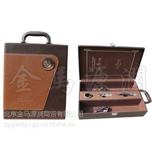 """""""泰迪""""双支皮盒(酒盒现货,酒桶,松木酒盒)"""