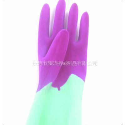 供应提供乳胶手套内侧植绒|洗碗手套植绒|工业一次性手套植绒