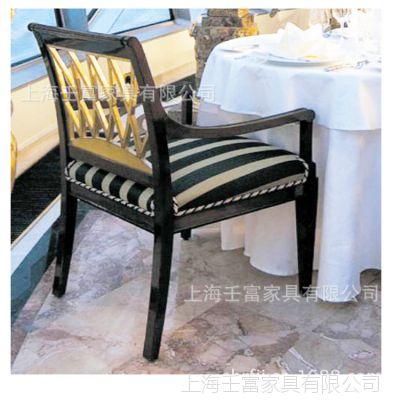 厂家供应实木椅,五星级酒店餐厅桌子椅子,可来图,定做实木椅