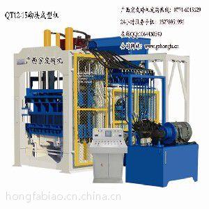 广西宏发砖机主要生产:水泥打砖机、免烧砖机、砌块成型机