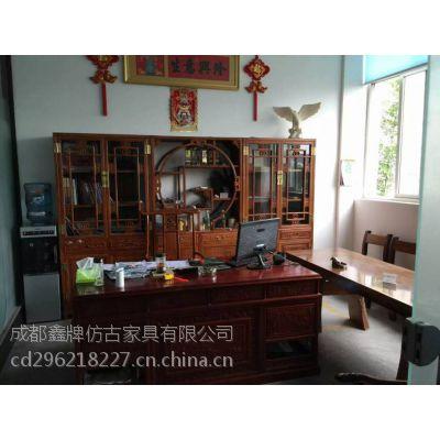 供应成都定做新中式衣柜,书柜,床,茶几,餐桌椅价格是多少