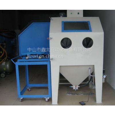供应厂家直供各式手动干式喷砂机