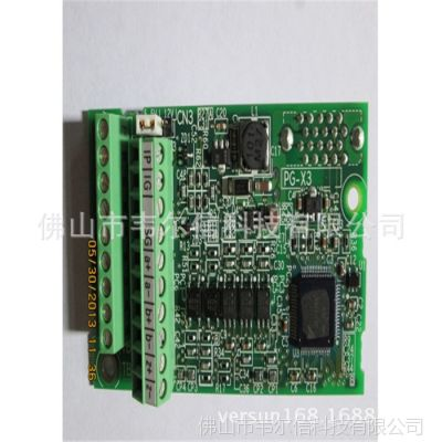 供应PG-X3   安川电梯变频器  同步PG卡