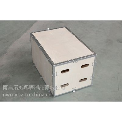 南昌厂家长期供应各种规格钢边箱,无钉箱,钢带箱和卡扣箱等木包装箱