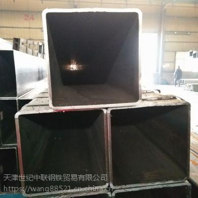 现货供应天津Q235B矩形方管热镀锌方矩管Q345B低合金方管