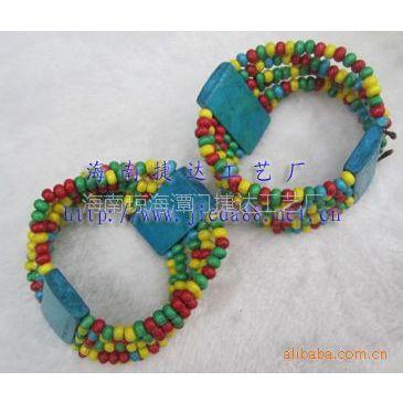 供应时尚流行海南特产椰壳手链