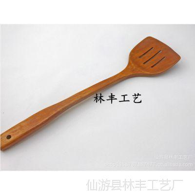 批发供应不粘锅烹饪铲 炒菜铲 优质木铲37.5CM