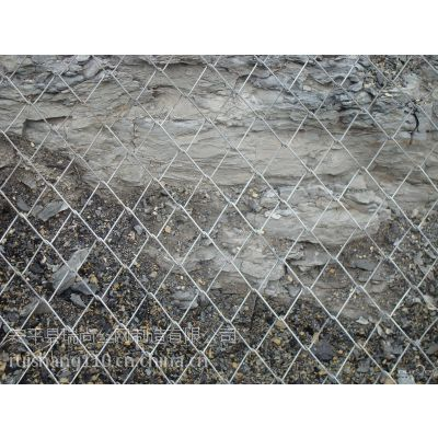 安平厂家特价批发镀锌矿用勾花网 支护勾花网