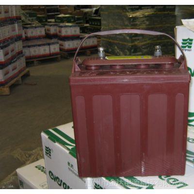 厂家批量供应6V,8V电动高尔夫球车电瓶电动车蓄电池