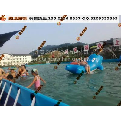 开个室外支架游泳池乐园要多少钱 大型支架水池批发价 钢架水池生意如何