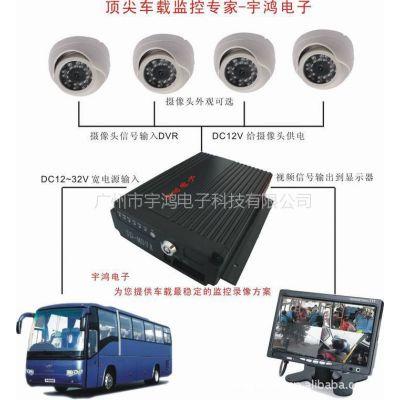 供应4路 SD卡车载录像机 H.264车载录像机 公交车 车载监控系统