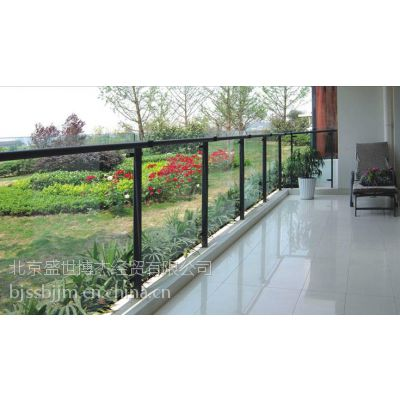 Q195内蒙古呼伦贝尔市 锌钢阳台栏杆、玻璃阳台栏杆、阳台栏杆、锌钢护栏