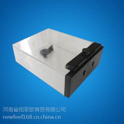 NF-超市电池防盗盒 唇膏剃须刀片透明盒 亚克力材质 声磁系统