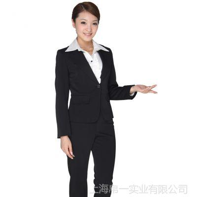 供应职业女式/女士小西装/西服,定制高档商务行政职业套装正装