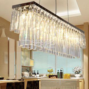 供应现代水晶吊灯 餐厅灯 吧台灯 灯饰灯具
