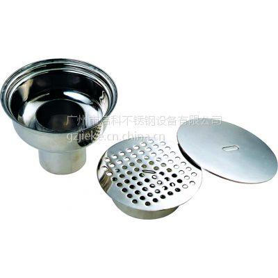 食品车间.生物制药GMP304不锈钢洁净地漏.卫生级净化地漏DN100