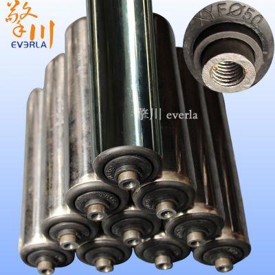 广州擎川everla厂家批发304不锈钢无动力滚筒 流水线滚筒