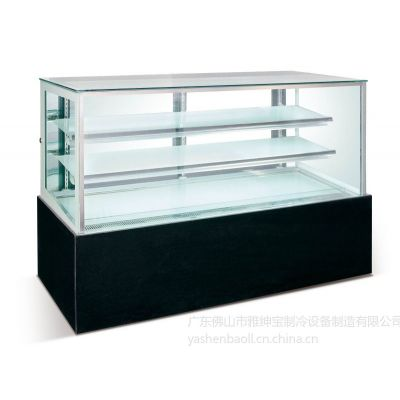 供应日式直角蛋糕柜 连锁西饼店设备 西点展示柜 采蝶轩 美心