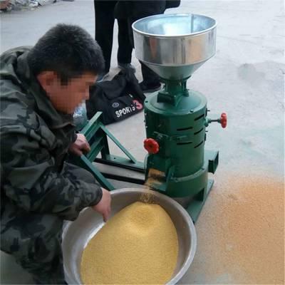 粮食脱皮碾米机 辊式脱皮碾米机