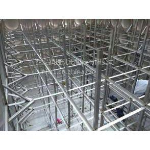 合阳水箱加工 RB-21合阳组合式不锈钢水箱厂家 润捷水箱
