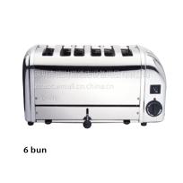 英国DUALIT 6BUN 半热式六格烘汉堡包炉