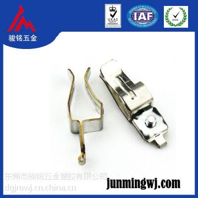 生产供应 优质定位弹片 各种五金弹片 灯头五金接触片