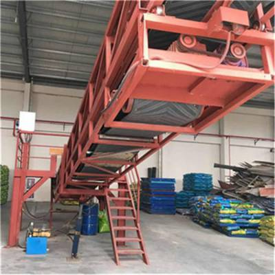 多层耐磨皮带机 矿用大型皮带输送机 结构简单组装方便