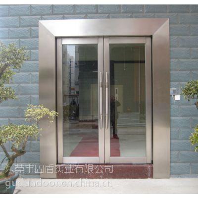 江西省甲级玫瑰金不锈钢防火大玻璃门供应商