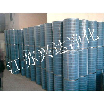 生产供应除尘滤筒。空气油气净化滤芯