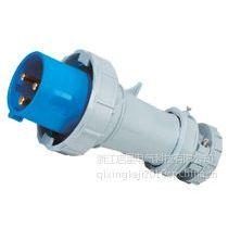 供应启星QX1571 3P/63A IP67防水工业插头插座 厂家直销
