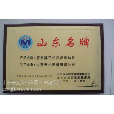供应山东开元电机公司 三相异步电动IP23 5603-8高效节能电机028275