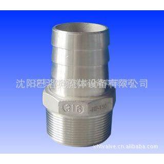 供应不锈钢水管接头 皮管接头 胶管接头 气动接头(图)
